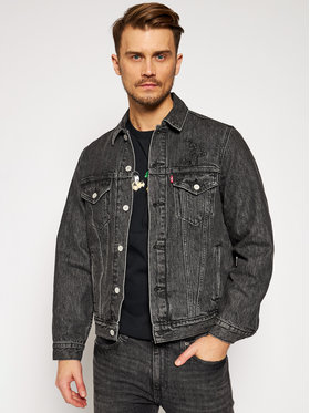 Levi's® Levi's® Veste en jean DISNEY Mickey & Friends A0880-0000 Noir Regular Fit
