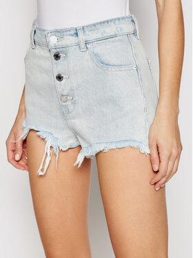 Guess Guess Pantaloni scurți de blugi W1GD59 D3P31 Albastru Regular Fit