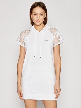 Liu Jo Sport Liu Jo Sport Φόρεμα καθημερινό TA1204 F0833 Λευκό Regular Fit