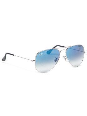 Ray-Ban Ray-Ban Okulary przeciwsłoneczne Aviator Gradient 0RB3025 003/3F Srebrny