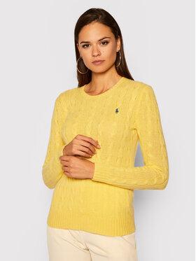 Polo Ralph Lauren Polo Ralph Lauren Svetr Julianna Wool/Cashmere 211525764076 Žlutá Regular Fit