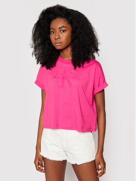 Calvin Klein Jeans Calvin Klein Jeans T-Shirt J20J216347 Rosa Relaxed Fit