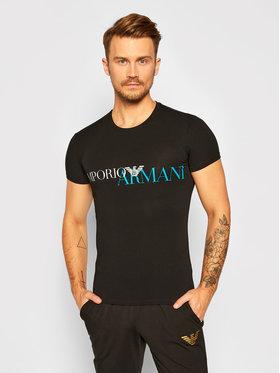 Emporio Armani Underwear Emporio Armani Underwear Тишърт 111035 0A516 00020 Черен Slim Fit