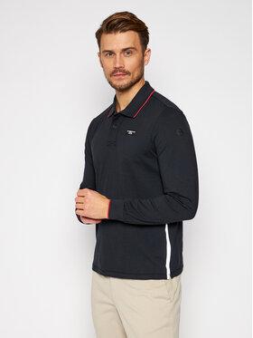 North Sails North Sails Тениска с яка и копчета PRADA Picton 452011 Черен Regular Fit
