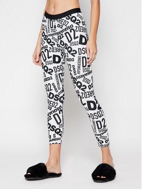 Dsquared2 Underwear Dsquared2 Underwear Leggings D8N473270 Bianco Slim Fit