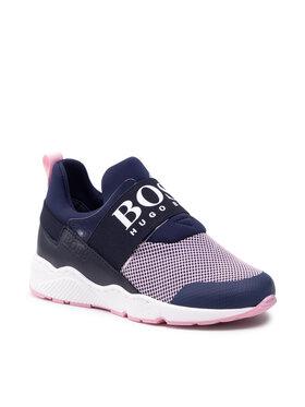 Boss Boss Sneakersy J19059 S Granatowy