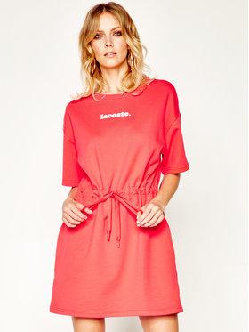 Lacoste Lacoste Sukienka codzienna EF5761 Czerwony Regular Fit