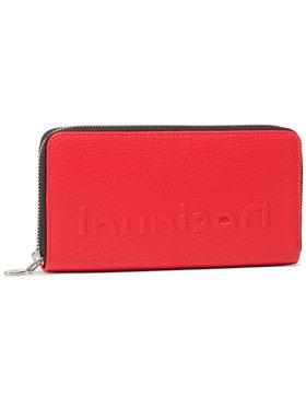 Desigual Desigual Portefeuille femme grand format 21SAYP35 Rouge