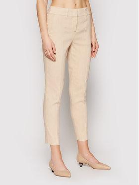 Marella Marella Kalhoty z materiálu Bagagli 31310515 Béžová Regular Fit