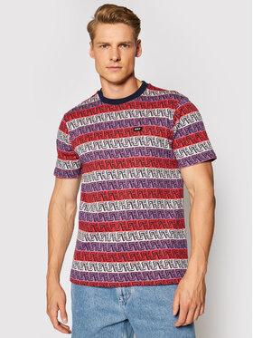 HUF HUF T-Shirt Otis Jacquard KN00275 Kolorowy Regular Fit