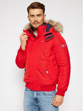 Tommy Jeans Tommy Jeans Zimná bunda DM0DM08758 Červená Regular Fit