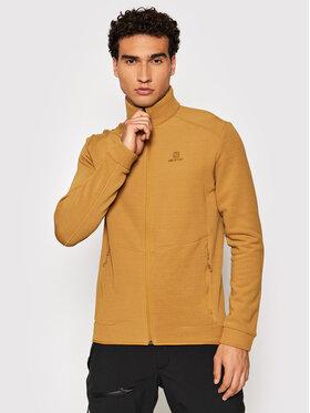 Salomon Salomon Techninis džemperis Radiant LC1637800 Geltona Regular Fit
