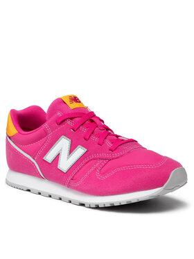 New Balance New Balance Sneakersy YC373WP2 Różowy