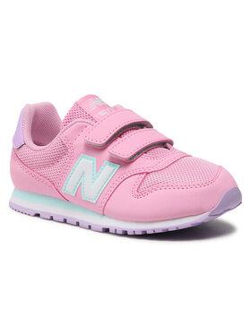 New Balance New Balance Sneakersy YV500WPB Różowy