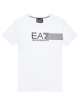 EA7 Emporio Armani EA7 Emporio Armani T-Shirt 3KBT54 BJ02Z 1100 Biały Regular Fit