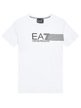 EA7 Emporio Armani EA7 Emporio Armani T-Shirt 3KBT54 BJ02Z 1100 Bílá Regular Fit