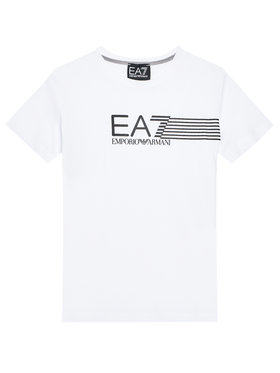 EA7 Emporio Armani EA7 Emporio Armani T-Shirt 3KBT54 BJ02Z 1100 Weiß Regular Fit