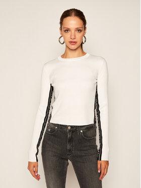 Calvin Klein Jeans Calvin Klein Jeans Pullover J20J214138 Weiß Slim Fit
