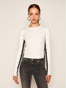 Calvin Klein Jeans Calvin Klein Jeans Pulover J20J214138 Alb Slim Fit