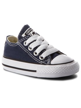 Converse Converse Sneakers aus Stoff Inf C/T A/S Ox 7J237C Dunkelblau