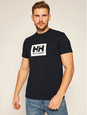 Helly Hansen Helly Hansen Póló Box 53285 Sötétkék Regular Fit