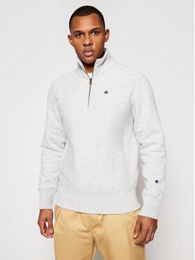 Champion Champion Sweatshirt Half Zip-Up 214678 Grau Custom Fit