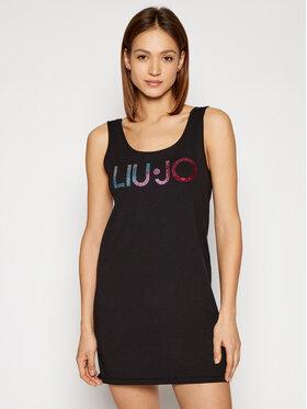 Liu Jo Beachwear Liu Jo Beachwear Rochie de vară VA1060 J5003 Negru Regular Fit