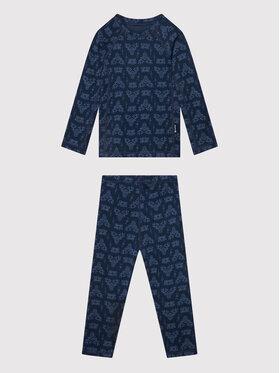 Reima Reima Set di biancheria intima termica Taival 536434 Blu scuro Slim Fit