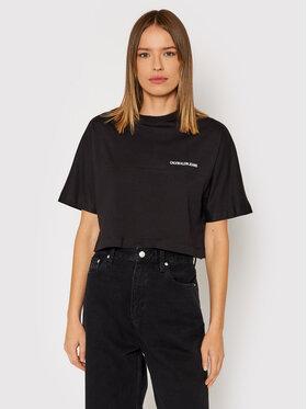 Calvin Klein Jeans Calvin Klein Jeans Футболка J20J217567 Чорний Regular Fit