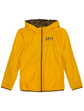 Helly Hansen Helly Hansen Kurtka zimowa Junior Champ Reversible 41736 Żółty Regular Fit