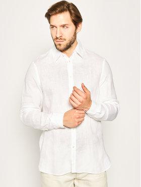 Trussardi Jeans Trussardi Jeans Camicia 52C00139 Bianco Close Fit