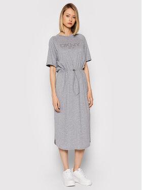 DKNY DKNY Ежедневна рокля P1FTCEGQ Сив Regular Fit