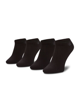 Calvin Klein Calvin Klein Zestaw 2 par niskich skarpet męskich 701218707 Czarny