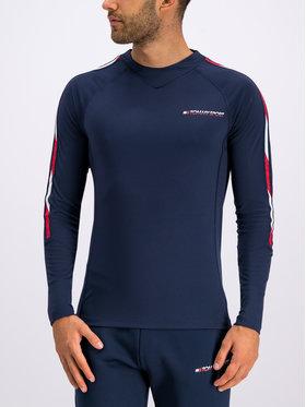 Tommy Sport Tommy Sport Longsleeve Herre S20S200235 Blu scuro Regular Fit