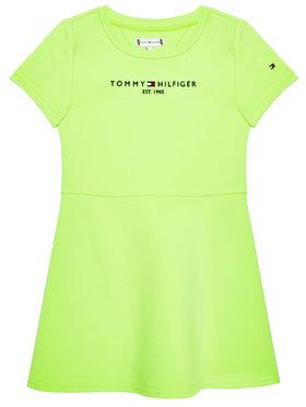 Tommy Hilfiger Tommy Hilfiger Vestito da giorno Essential Skater KG0KG05789 M Verde Regular Fit