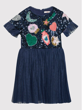 Billieblush Billieblush Elegantiška suknelė U12685 Tamsiai mėlyna Regular Fit