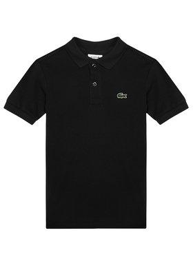Lacoste Lacoste Тениска с яка и копчета PJ2909 Черен Regular Fit