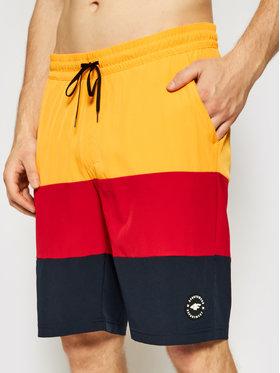 4F 4F Plážové šortky SKMT004 Tmavomodrá Regular Fit
