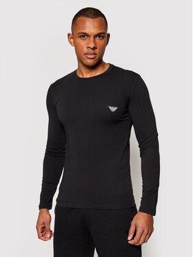 Emporio Armani Underwear Emporio Armani Underwear Marškinėliai ilgomis rankovėmis 111023 1P512 00020 Juoda Regular Fit