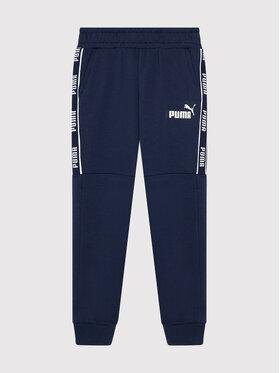 Puma Puma Παντελόνι φόρμας Amplified 580331 Σκούρο μπλε Regular Fit