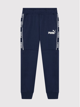 Puma Puma Teplákové kalhoty Amplified 580331 Tmavomodrá Regular Fit