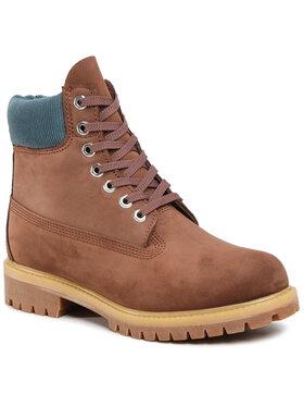"Timberland Timberland Ορειβατικά παπούτσια 6"" Premium Boot TB0A2NAC931 Καφέ"