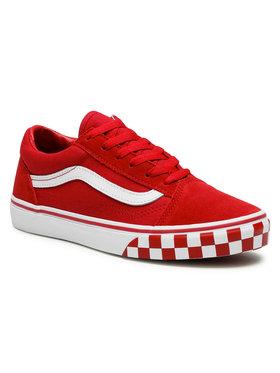 Vans Vans Tenisówki Old Skool VN0A4UHZ32W1 Czerwony