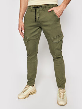 Pepe Jeans Pepe Jeans Joggers Jared PM211420 Zöld Regular Fit