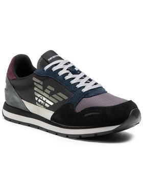Emporio Armani Emporio Armani Sneakers X4X215 XL200 N064 Negru