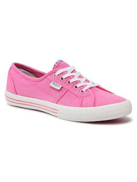 Pepe Jeans Pepe Jeans Teniszcipő Baker Wash PGS30262 Rózsaszín