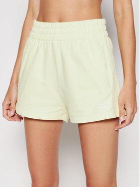 adidas adidas Sportske kratke hlače Tennis Luxe 3-Stripes H56439 Žuta Regular Fit