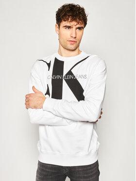 Calvin Klein Jeans Calvin Klein Jeans Bluză Organic Cotton Logo J30J315293 Alb Regular Fit