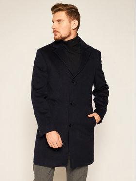 Roy Robson Roy Robson Μάλλινο παλτό 3970-98 Σκούρο μπλε Regular Fit
