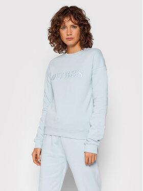 Guess Guess Bluza O1GA01 K68M1 Niebieski Regular Fit